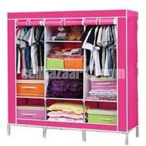 Cloths And Storage Waredrobe (Big) - 2/10