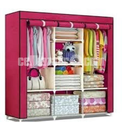 Cloths And Storage Waredrobe (Big) - 3/10