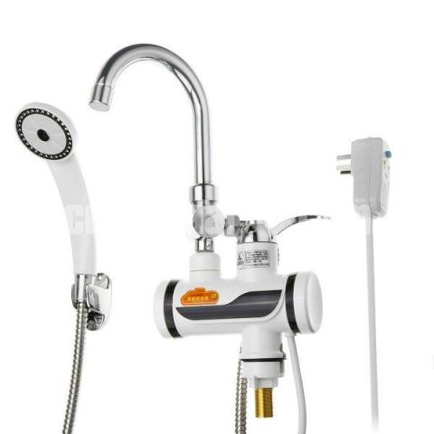 Hot Water Tap Digital Besin With Shower - 8/10