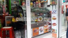 Fast food Display Showcase