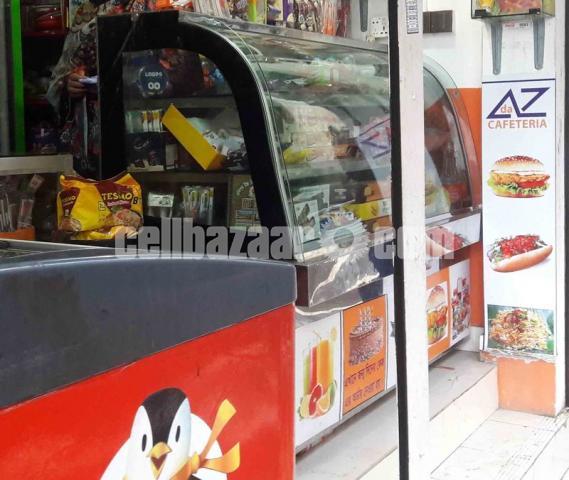 Fast food Display Showcase - 1/2