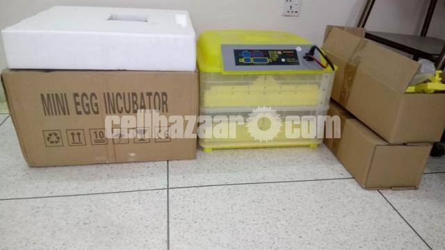 HHD MINI EGG INCUBATOR. For 112 pes eggs - 1/5