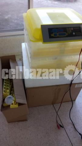 HHD MINI EGG INCUBATOR. For 112 pes eggs - 3/5
