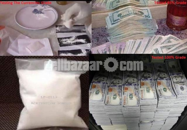 Defaced currencies cleaning CHEMICAL, ACTIVATION POWDER and MACHINE available! - 9/9