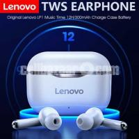 Lenovo LP1 TWS Waterproof Sport Earbud Bluetooth 5 Noise Cancelling Mic Dual Stereo HIFI.