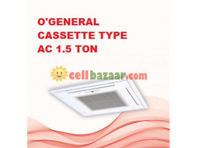 O'General Cassette Ac 1.5 Ton - 1/2