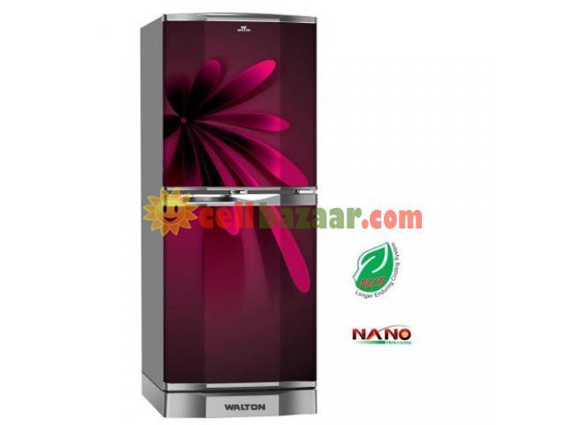 Walton 11cft Glass Door Refrigerator Nasirabad