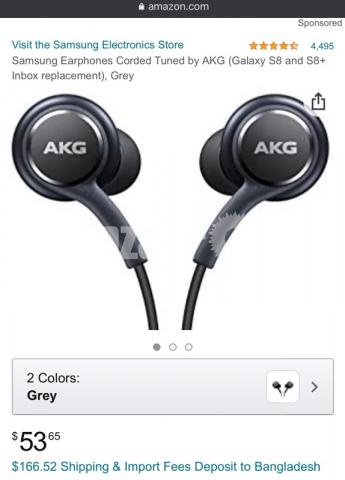 AKG Head phone (earphone) - 1/5