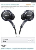 AKG Head phone (earphone)