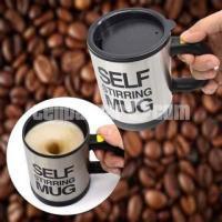 Self starting coffee mug