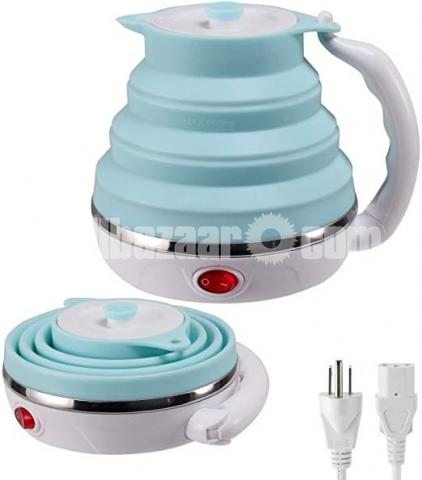 Silicone foldable electric kettle - 1/2