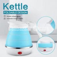 Silicone foldable electric kettle