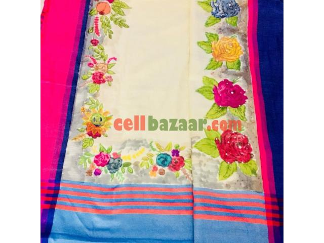 half silk saree - 1/1