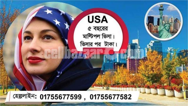 Multiple Visit Visa In USA - 1/1