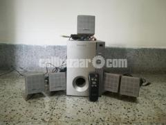 microlab speaker  with subwoofer