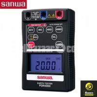 Digital Earth Resistance Tester Sanwa PDR4000