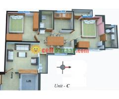 815 sft Flat sale Baridhara @ 27 Lac