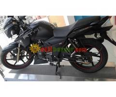 Apache RTR 150 mattte black
