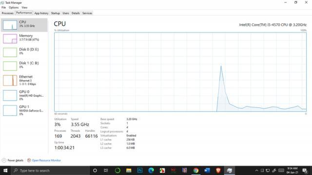 I5-4th gen, 240GB SSD, 8GB RAM, 4GB graphics - 3/4
