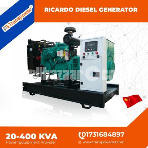 20 KVA Ricardo Engine Generator (China) - 5/10