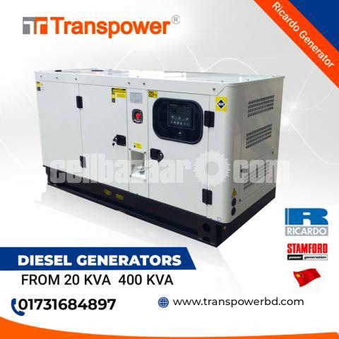 30 KVA Ricardo Engine Generator (China) - 2/10