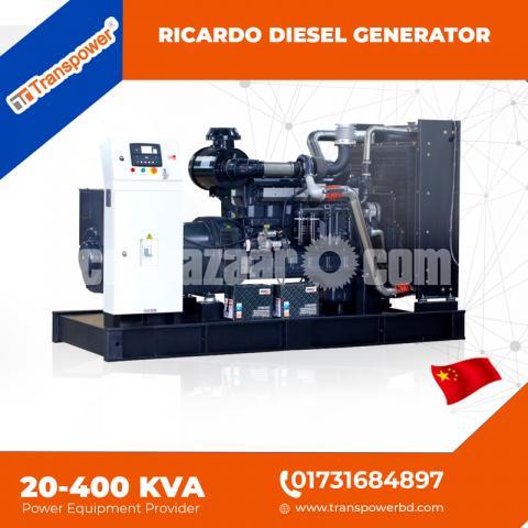 30 KVA Ricardo Engine Generator (China) - 6/10