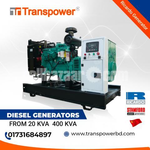 62.5 KVA Ricardo Engine Diesel Generator (China) - 1/10