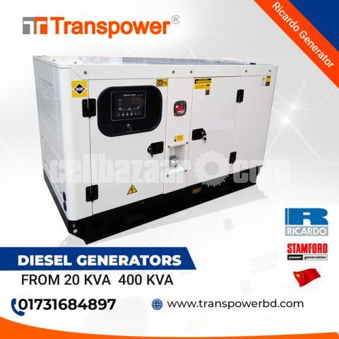 100 KVA Ricardo Engine Diesel Generator (China) - 1/10