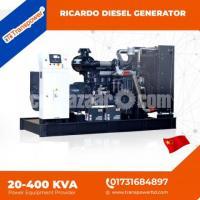 100 KVA Ricardo Engine Diesel Generator (China) - Image 7/10