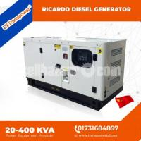 100 KVA Ricardo Engine Diesel Generator (China) - Image 8/10