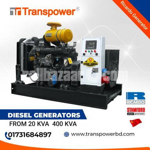 200 KVA Ricardo Engine Diesel Generator (China) - 3/10