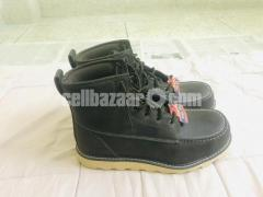 Big Mac Mens Oak Leather Closed Toe Ankle Safety Boots - Image 2/8