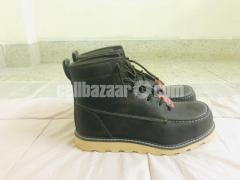 Big Mac Mens Oak Leather Closed Toe Ankle Safety Boots - Image 6/8