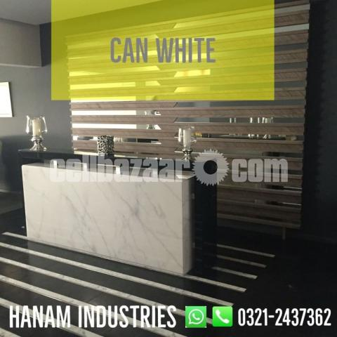 Can White Marble - 3/5