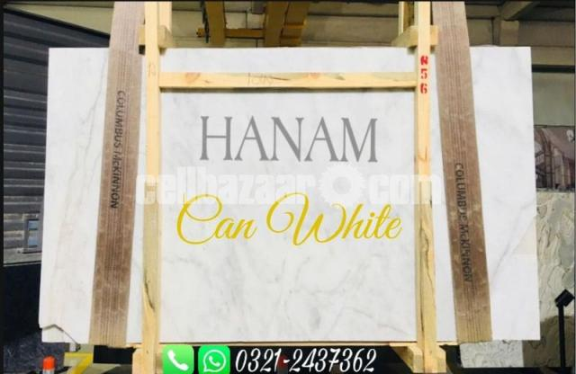 Can White Marble - 4/5