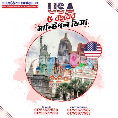 Multiple Visit Visa In USA - 1/1