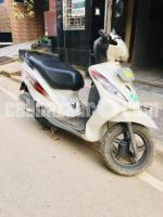 TVS Wego scooter 2015