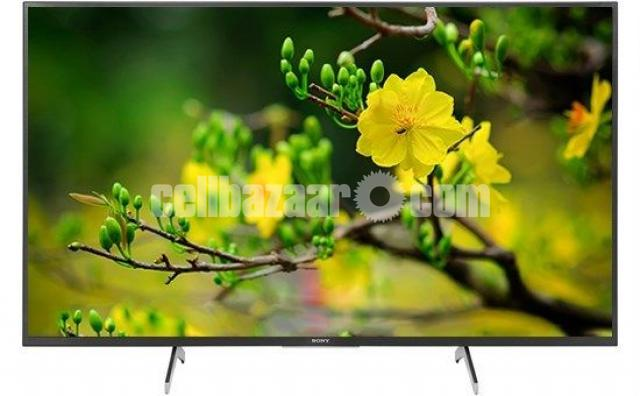 SONY 55 inch X8000H 4K ANDROID VOICE CONTROL TV - 1/5