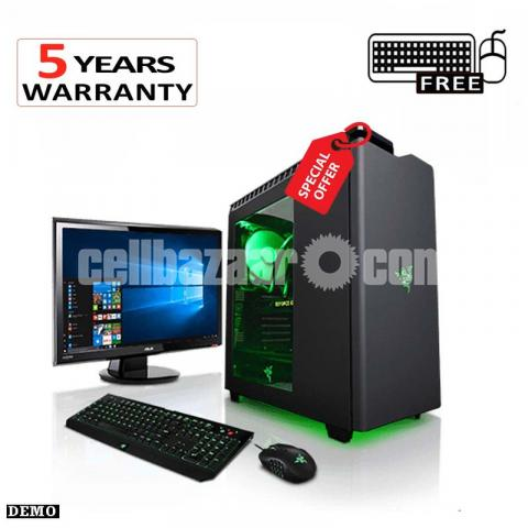 Intel Core i7 8MB Cache RAM 4GB HDD 500GB Graphics 2GBAnd  'Monitor 17 inch' - 4/4