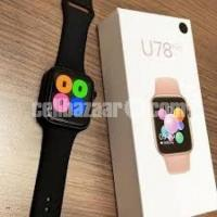 2020 On Sale Smartwatch Series 5 U78 Plus Siri Voice Rotary Button Control Bluetooth Call Smart Watc