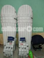 Cricket leg pad hand gloves guard helmet
