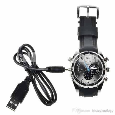 16GB Mini Waterproof Hidden Camcorders Spy Camera Watch - 2/5