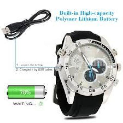 16GB Mini Waterproof Hidden Camcorders Spy Camera Watch - 4/5