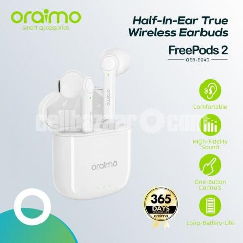 Oraimo FreePods 2 Earbuds OEB-E94D - 3/4