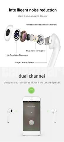 i11s TWS Earbuds with Charging case - 7/8