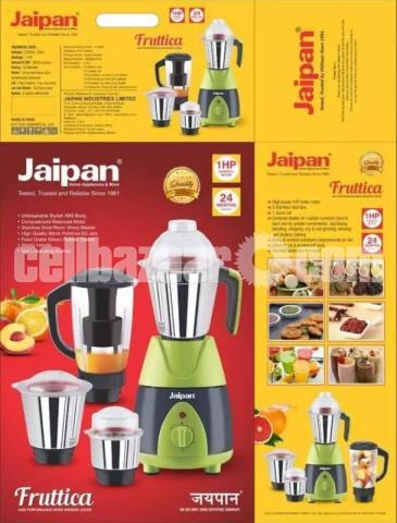Jaipan Fruttica Mixer Grinder & Blender 4 IN 1-750W(1 HP Powerful motor) - 2/8