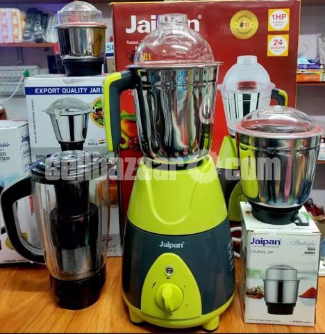 Jaipan Fruttica Mixer Grinder & Blender 4 IN 1-750W(1 HP Powerful motor) - 5/8