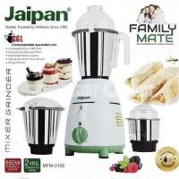 Jaipan Mixer Grinder / Blender 850 Watt Family Mate MFM-2100 (White) 3 Jars