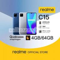 Realme C15 4GB/64GB Official BD