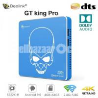 Beelink GT-King Pro Amlogic S922X-H Android 9.0 Hi-Fi Lossless Sound 4K TV Box 4+64GB Dolby DTS